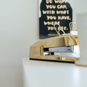 The Golden Stapler