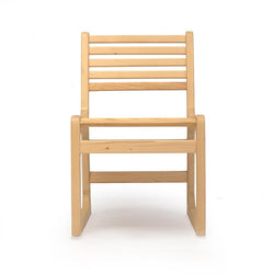 Slatted Wooden Chair