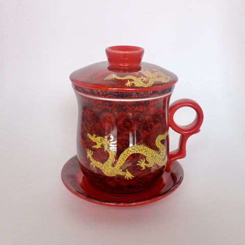Tasse à infuser - Dragons