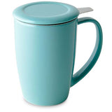 Tasse à infuser turquoise