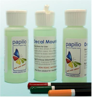 Decal Mounting Fluid - 2 fl. oz. or 32. fl. oz.