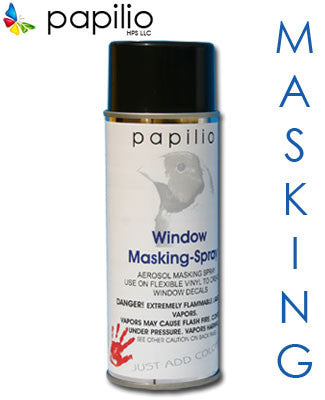 Aerosol White Window Masking Spray - 12 fl oz.