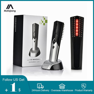 Electric Laser Hair Growth Comb Anti Hair Loss