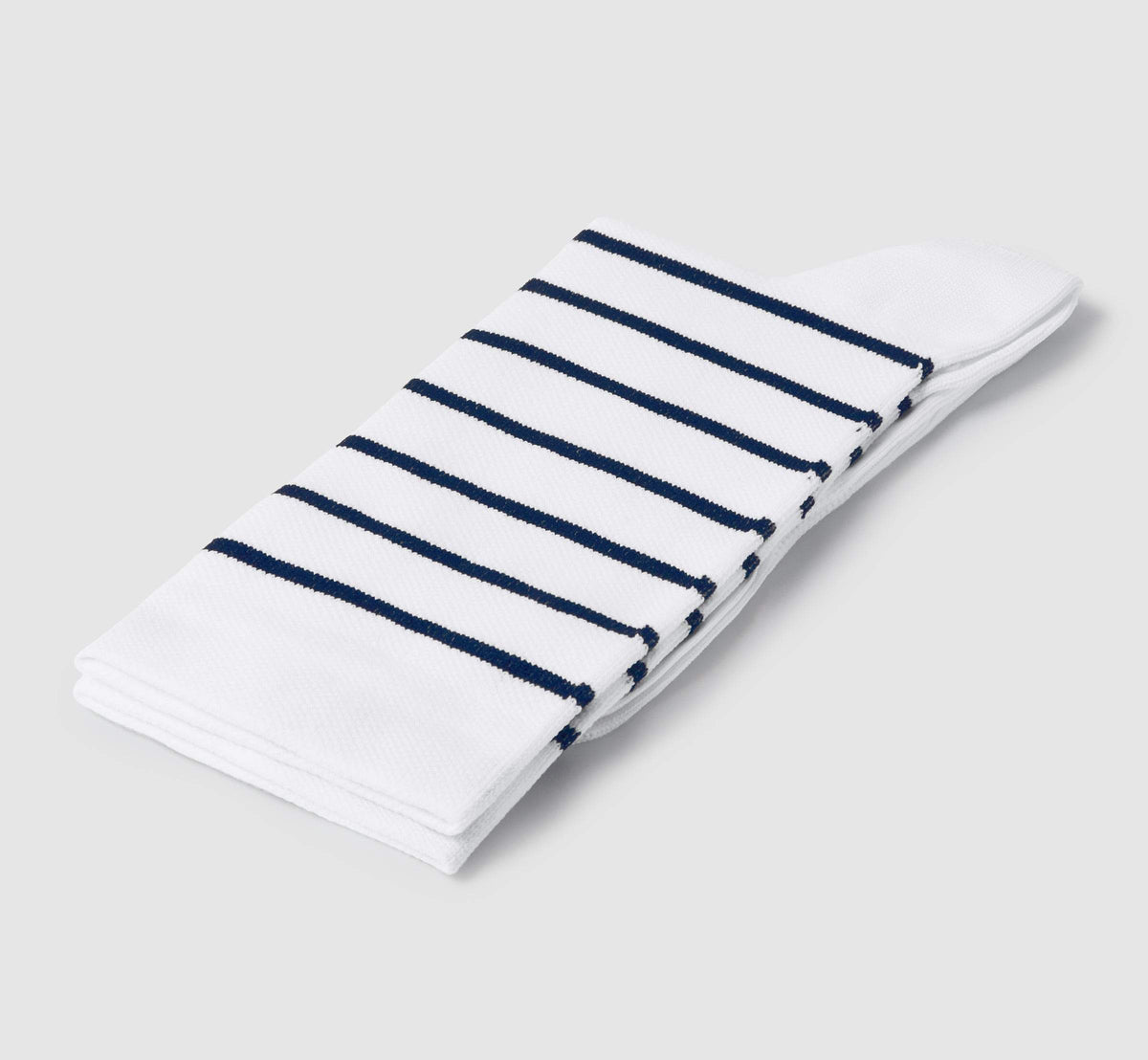 Stripes Socks White/Blue