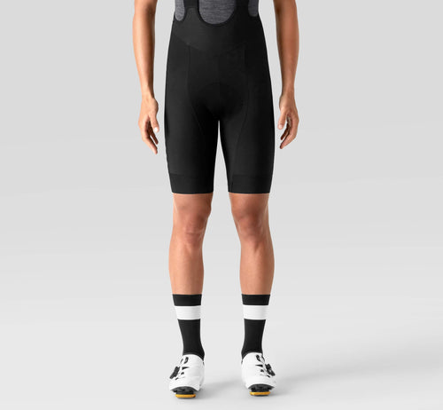 PSN Thermal Bib Shorts Black