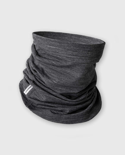 Merino Neck Warmer Grey