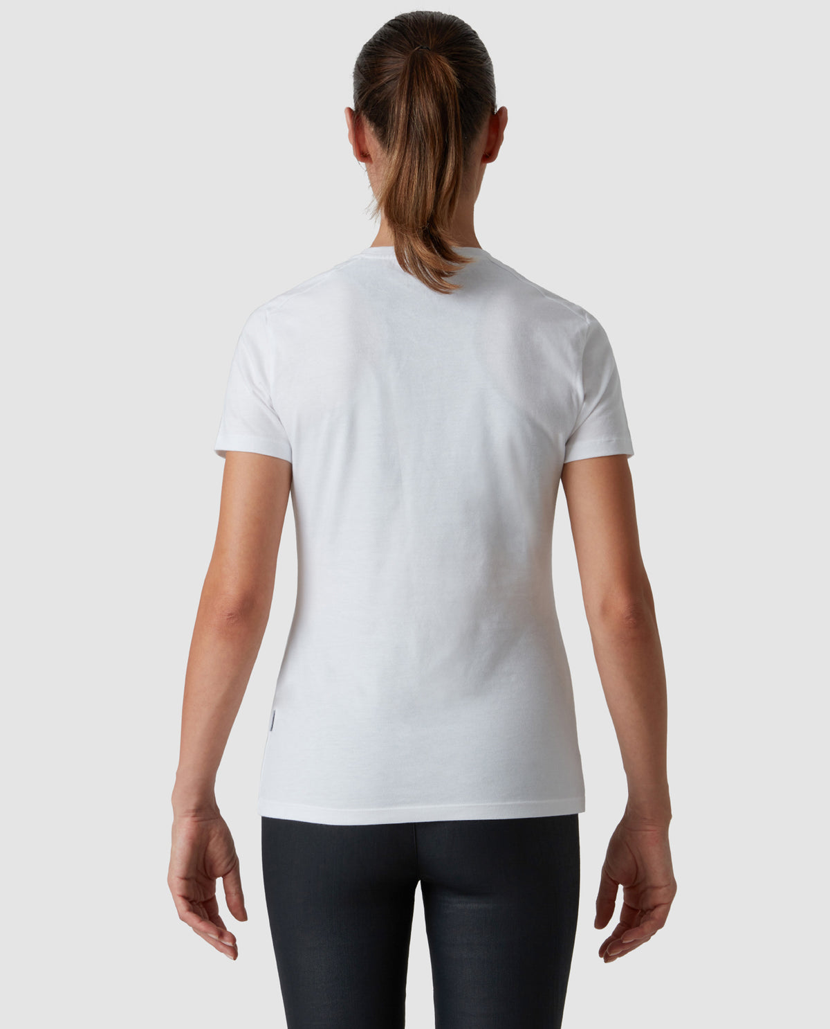 Logo T-Shirt White Woman