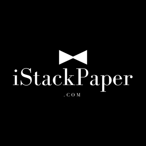 i stack paper to the ceiling brand for millionaires and billionaires at istackpaper.com
