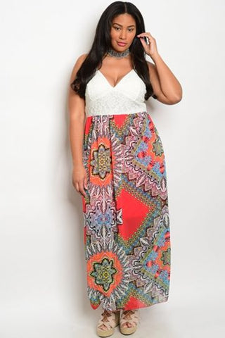 Ali Crocheted Maxi Dress