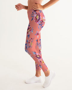Love Me Flowers Women's Yoga Pants