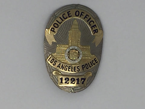 Costume Replica Los Angeles Police Officer Badge #12217