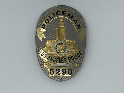 Costume Replica Los Angeles Police Officer Badge #5290