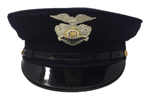 Los Angeles Police Officer Hat with Badge