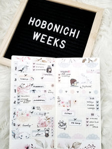 Spring is Near || Hobonichi Techo Weeks