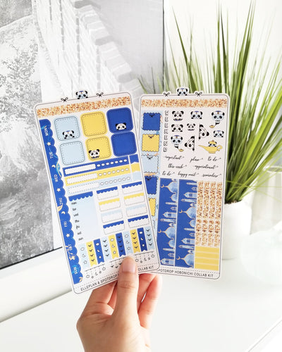 EllePlan & SpotDrop Collab Kit || Hobonichi Techo Weeks
