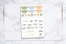 Load image into Gallery viewer, Autumn Aesthetics - VOL. 1 || For Erin Condren Vertical