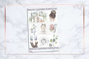 Autumn Aesthetics - VOL. 2 || For Erin Condren Vertical
