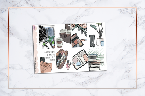Around the House (Matte Only) || Happy Planner