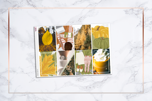 Autumn Morning || Happy Planner