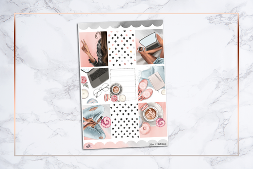 Bliss || For Erin Condren Vertical