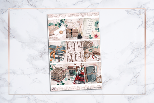 Book Lovers || For Erin Condren Vertical