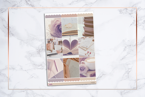 Bookworm || For Erin Condren Vertical