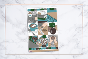 Caffeine Queen || For Erin Condren Vertical
