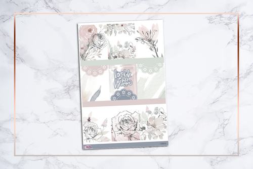 Flourish | For Erin Condren Vertical