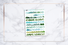Load image into Gallery viewer, Scalloped Washi Strips (Top) || Hobonichi Techo Weeks
