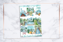 Load image into Gallery viewer, Let's Go Camping || For Erin Condren Vertical