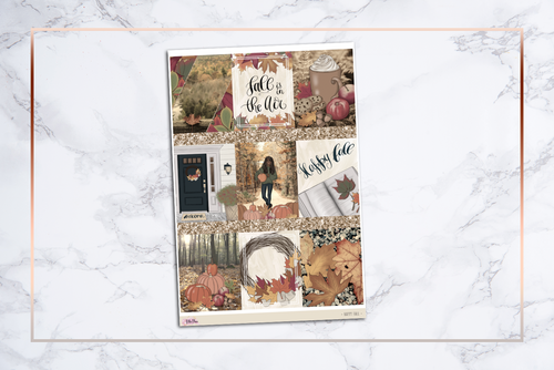 Happy Fall || For Erin Condren Vertical