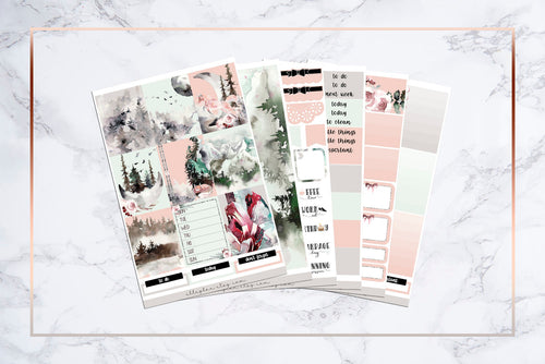 Elle's Field || For Erin Condren Vertical