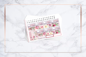 Frosty Floral || Happy Planner
