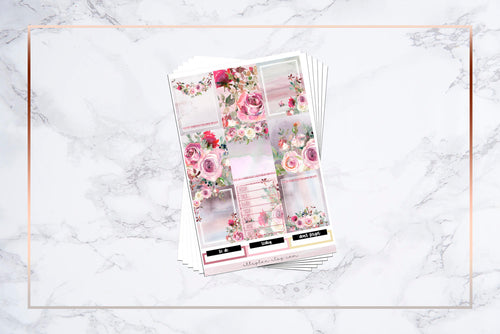 Frosty Floral || For Erin Condren Vertical