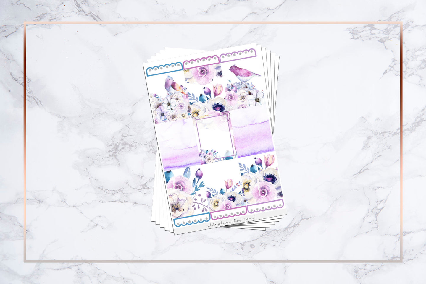 Summer Lilac || For Erin Condren Vertical