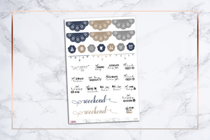 Joyful || For Erin Condren Vertical