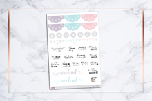 Load image into Gallery viewer, Let's Stay Home || For Erin Condren Vertical