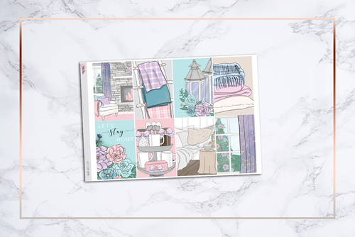 Let's Stay Home || Happy Planner