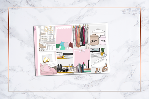 Living Space || Happy Planner