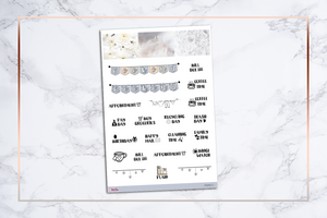 Minimalist | For Erin Condren Vertical