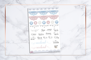 Travel Daze || For Erin Condren Vertical