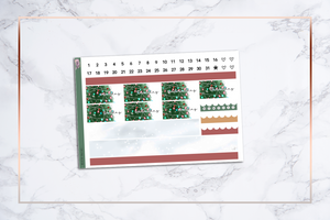 Christmas Vacation || Happy Planner