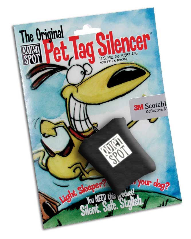 Quiet Spot® Pet Tag Silencer