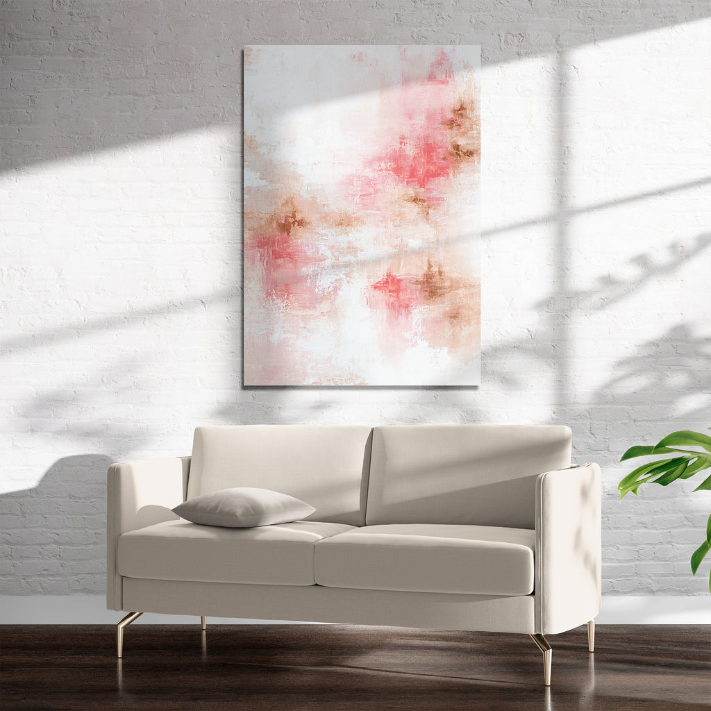 ROSE GOLD Art on Acrylic By Spellbound Fine Art