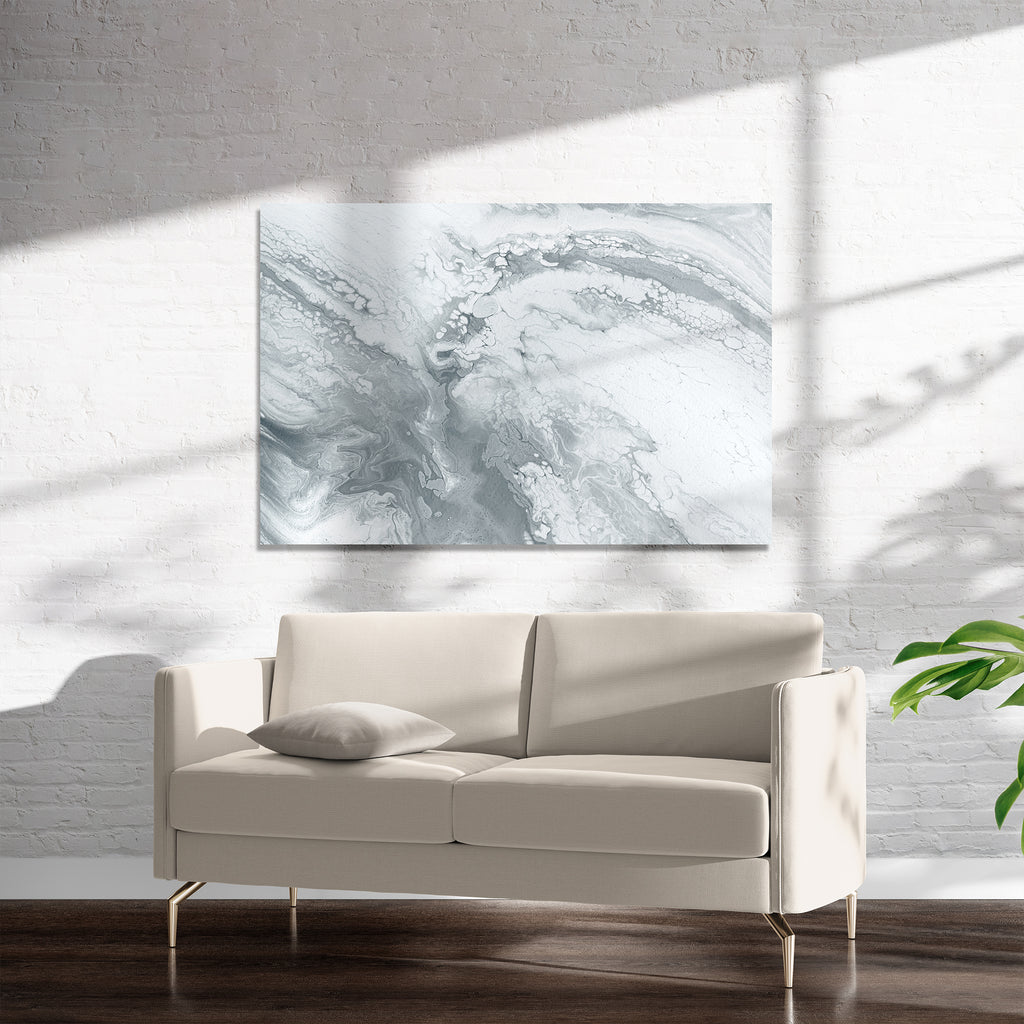 MARBLE GREY Art on Acrylic By Alyson McCrink