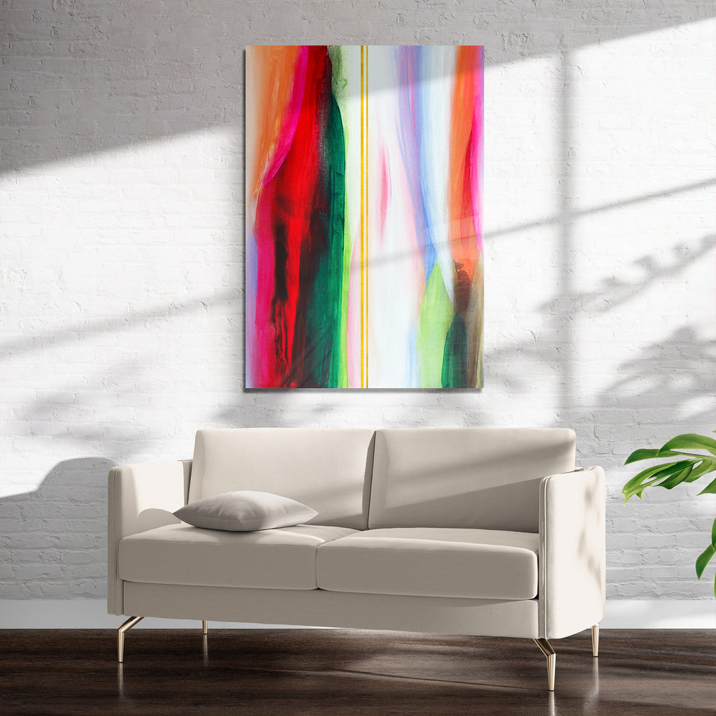 BRILLIANT SPECTRUM Art on Acrylic By Alyson McCrink