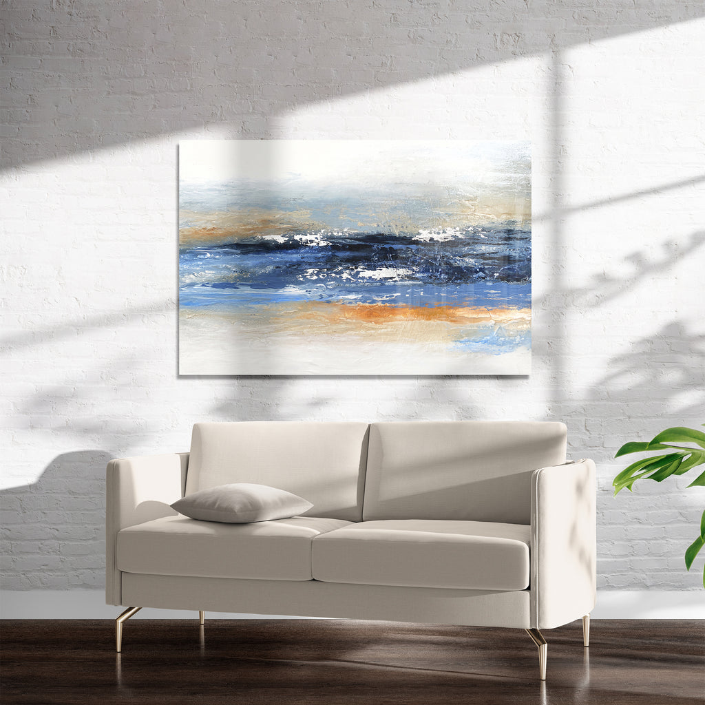LA PUSH Art on Acrylic By Alyson McCrink