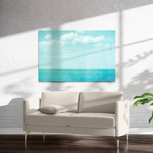 SEA OF BLUE Art on Acrylic By Bomobob