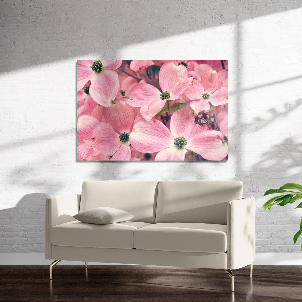 FLORAL Art on Acrylic By Robin Delean