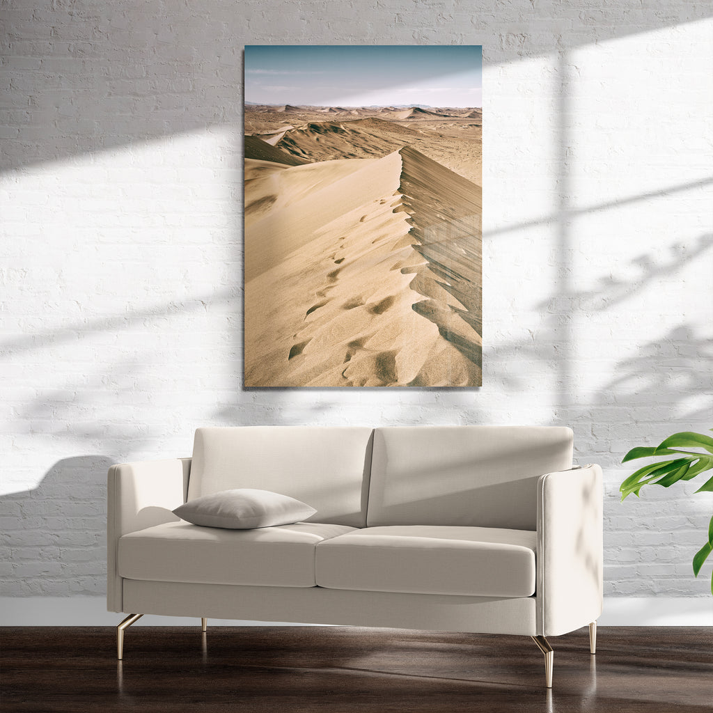 SAND DUNES Art on Acrylic By Heather Rae